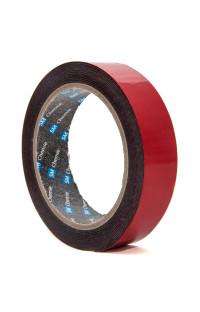 BF08 SM Сhemie, лента двухсторонняя клейкая, вспененная, 3м, толщина 0,8мм, цвет черный