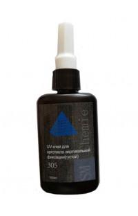 УФ клей SM Chemie 305 для оргстекла вертикальной фиксации (густой), 100 мл.